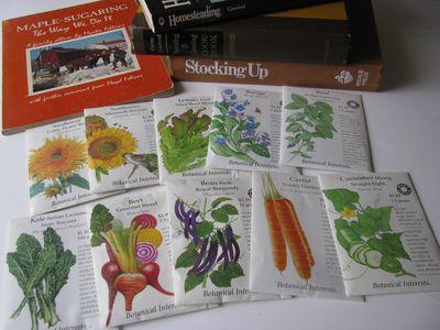 2011 garden seeds