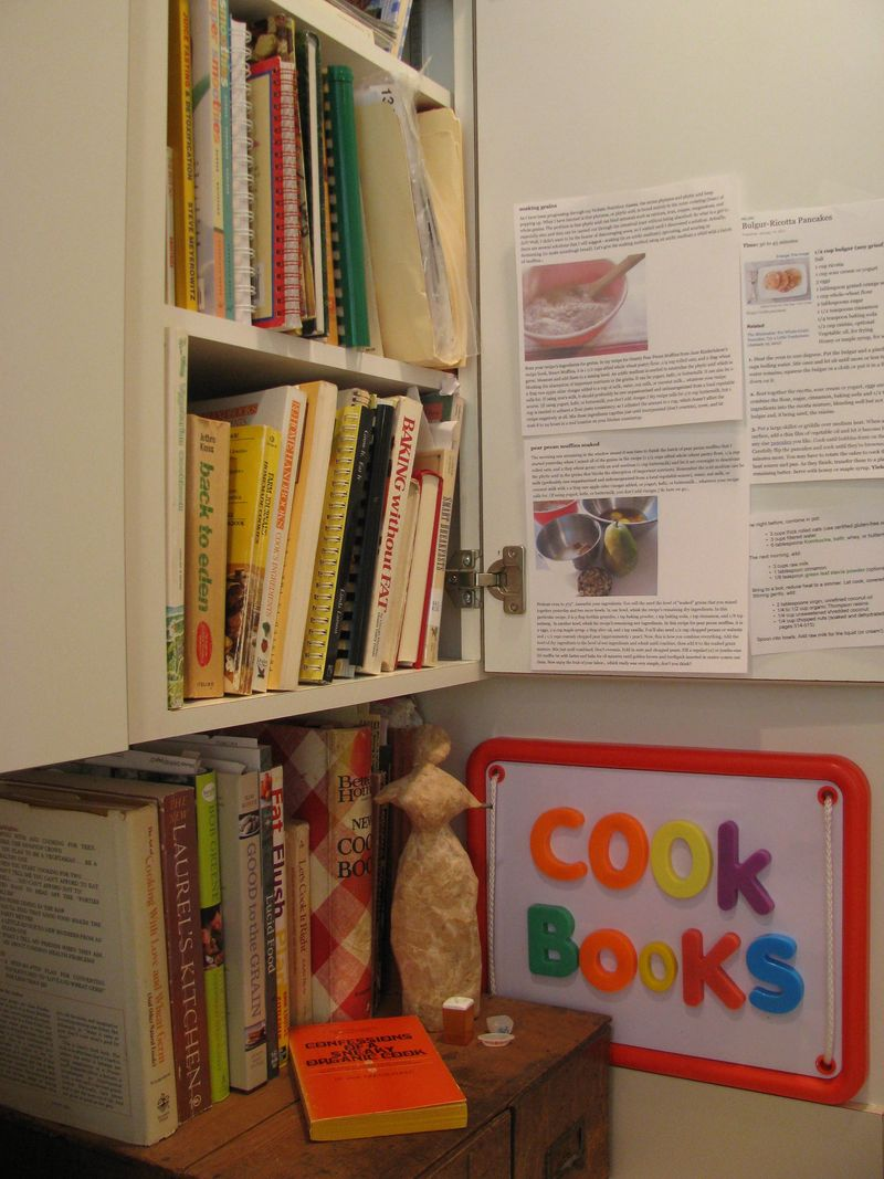 Cookbooks magnetic board 2