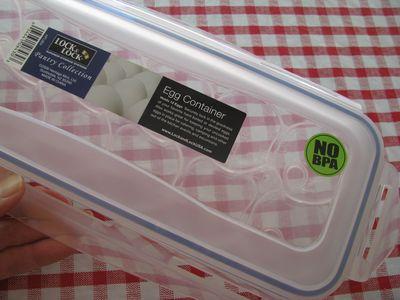Lock & lock egg container