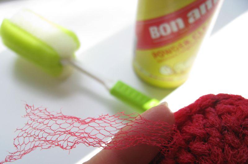 Scrubber netting