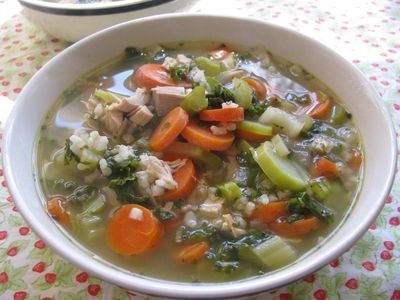 Turkey soup homemade
