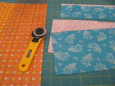 Cutting quilt blocks