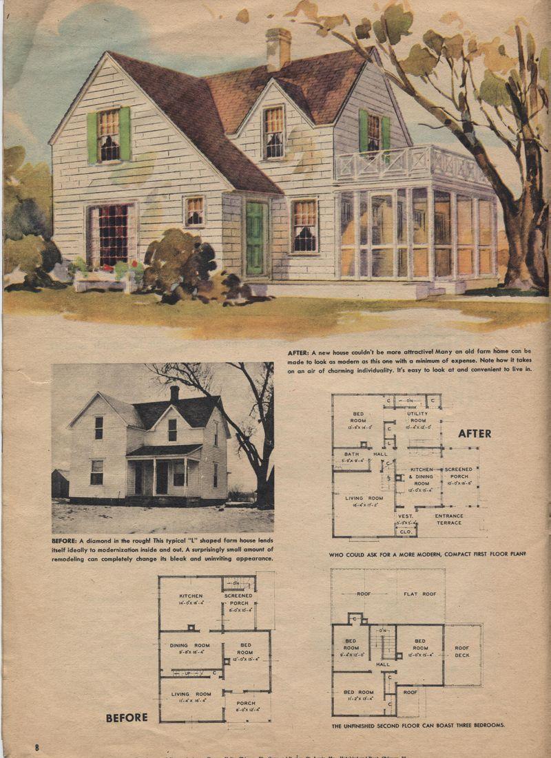Farmhouse modernization