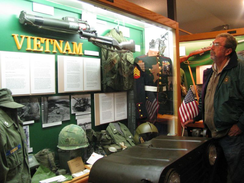 Vietnam war display