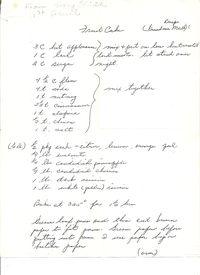 Fruit cake recipe original p.1