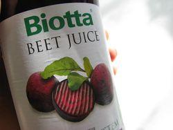 Biotta beet juice