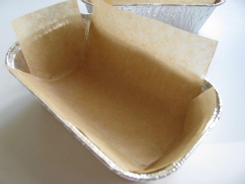 Fol loaf pan liner