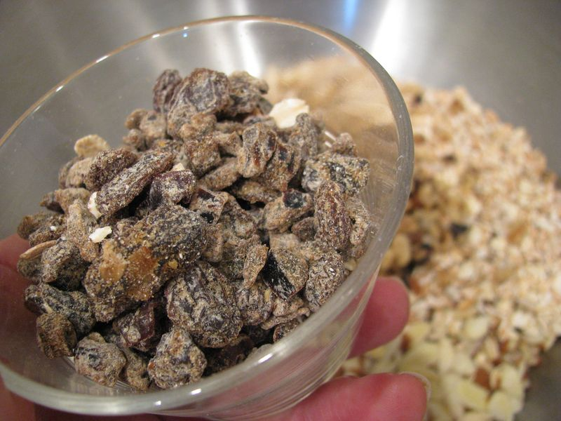 Muesli raisins + dates