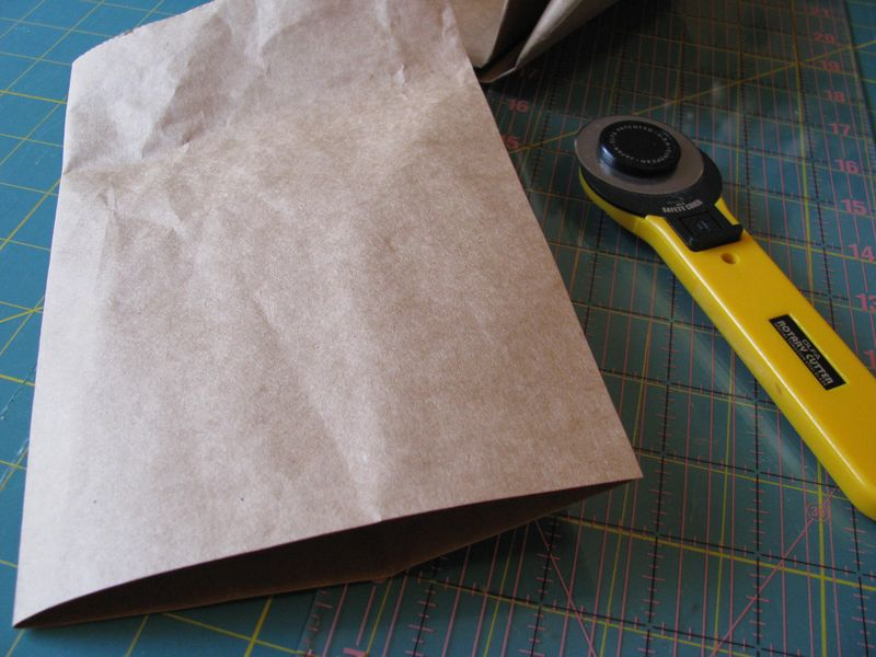 Notebook grocery bag