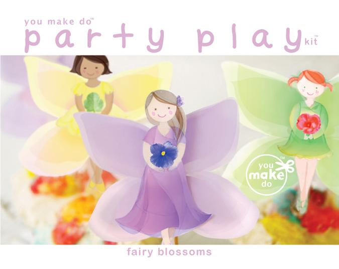 Fairy blossoms party play kit