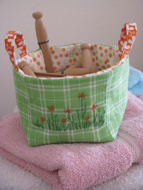 Zakka fabric basket