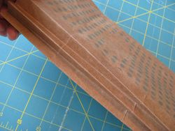 Notebook accordion binding attached