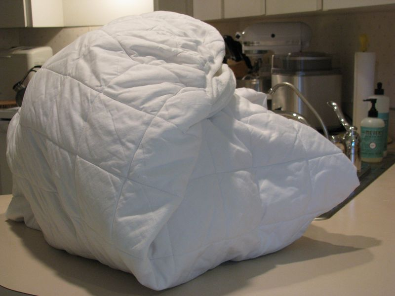 Crockpot yogurt mattress cover wrap