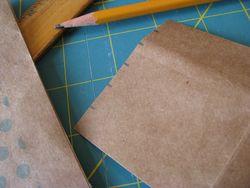 Notebook binding fold markings