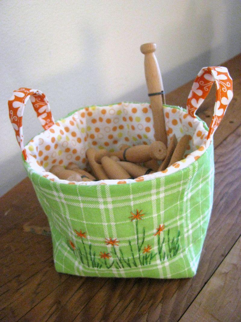 Zakka fabric basket2