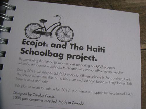 Haiti schoolbag project