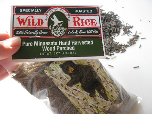 Wild rice package