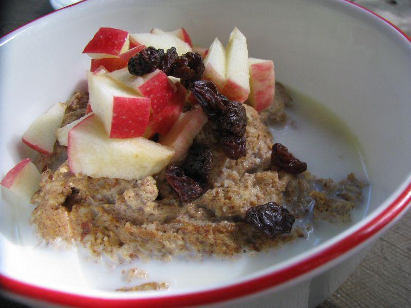 Oatless oatmeal