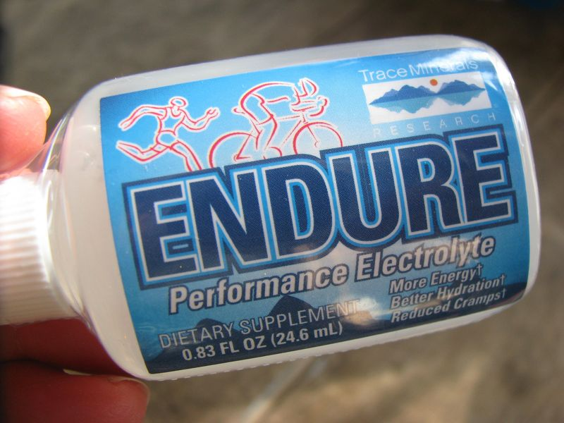 Endure electrolyte drops