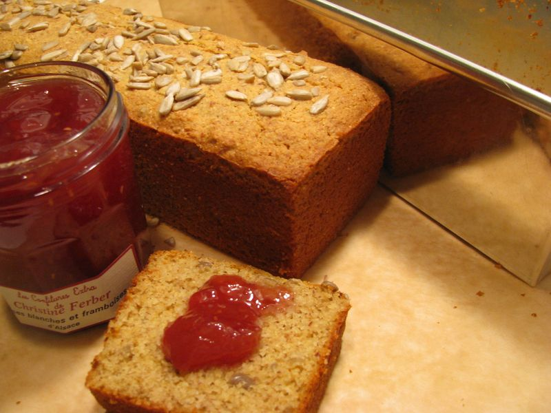 Honey almond sunflower loaf