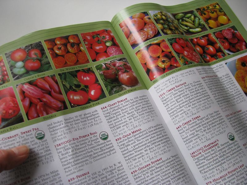 Seed savers exchange catalog
