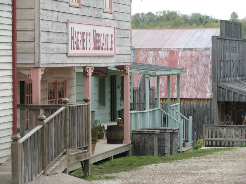 Baker creek seed pioneer town