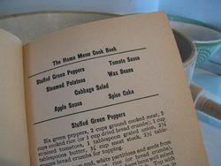The home menu cook book fall menu sampler