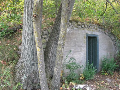Joyce estate root cellar