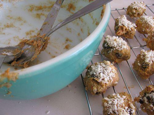 Parsnip cookies baked