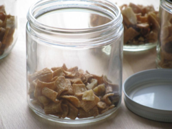 Cinnamon crunch portions