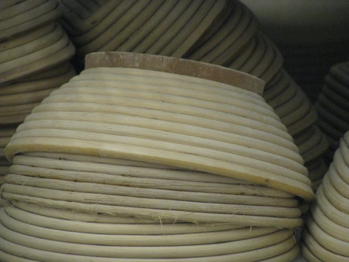 Round brotform stacks