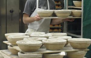 Round brotform proofing baskets