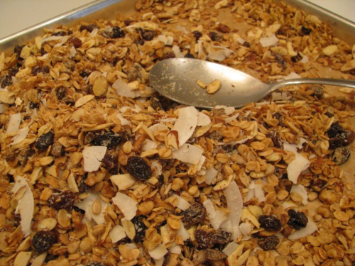 Whiteley Creek Homestead : granola alton brown