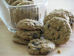 Scott stores oatmeal raisin cookie