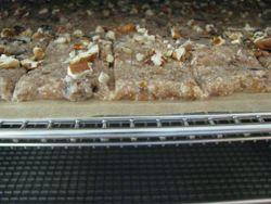 Almond pulp banana batter