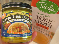 Bouillon + bone broth