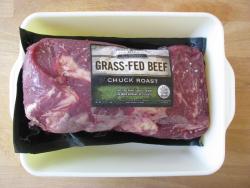 Grass-fed chuck roast