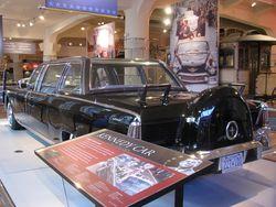 President kennedy car
