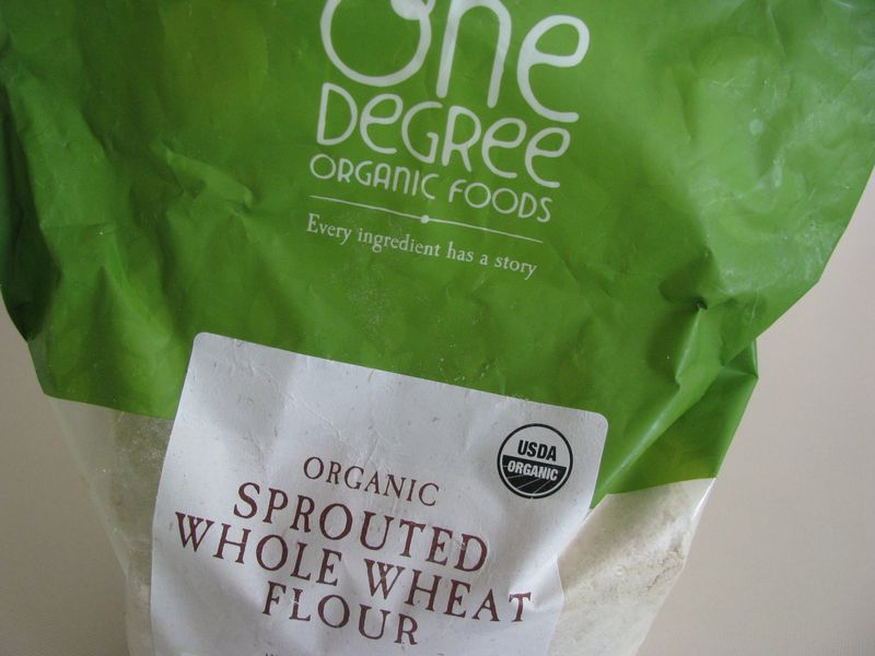 Sprouted flour bag