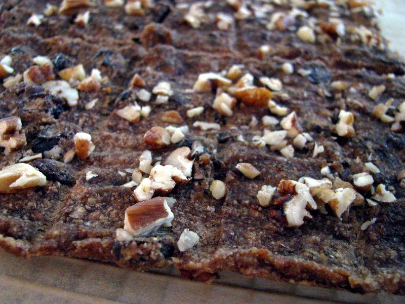 Almond pulp banana flatbread