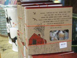Goat milk caramels packaging