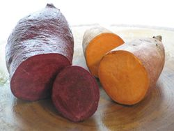 Purple sweet potato