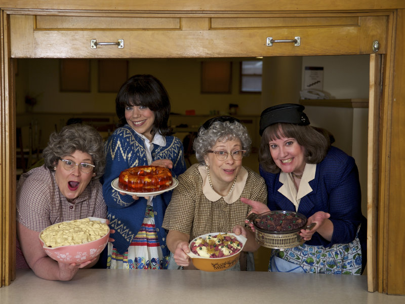 Church basement ladies covered dishes