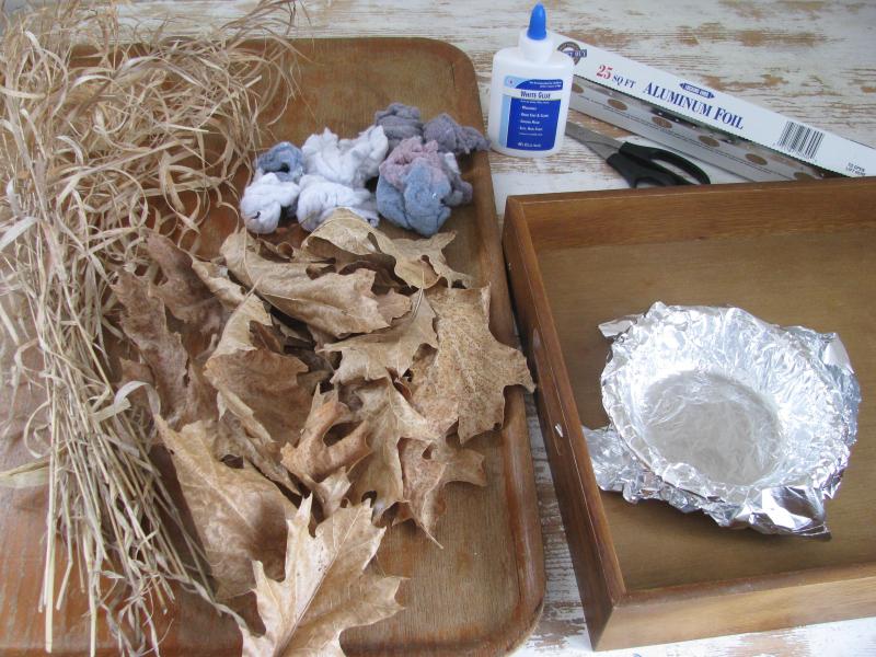 Bird nest supplies