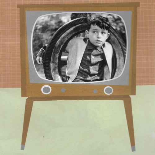 Black and white tv leave it to beaver