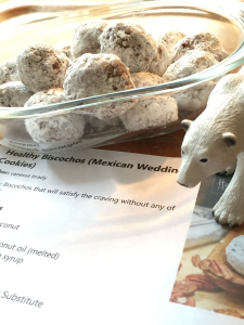 Healthy mexican wedding cookies