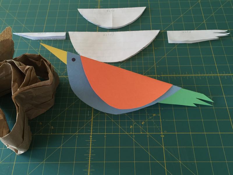 Bird + nest supplies